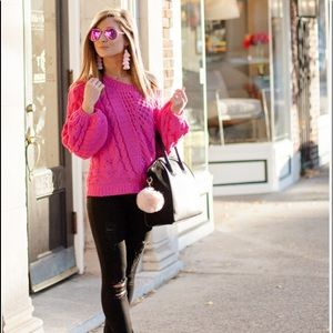 Chenille So Soft Express Balloon Sleeve Sweater XS